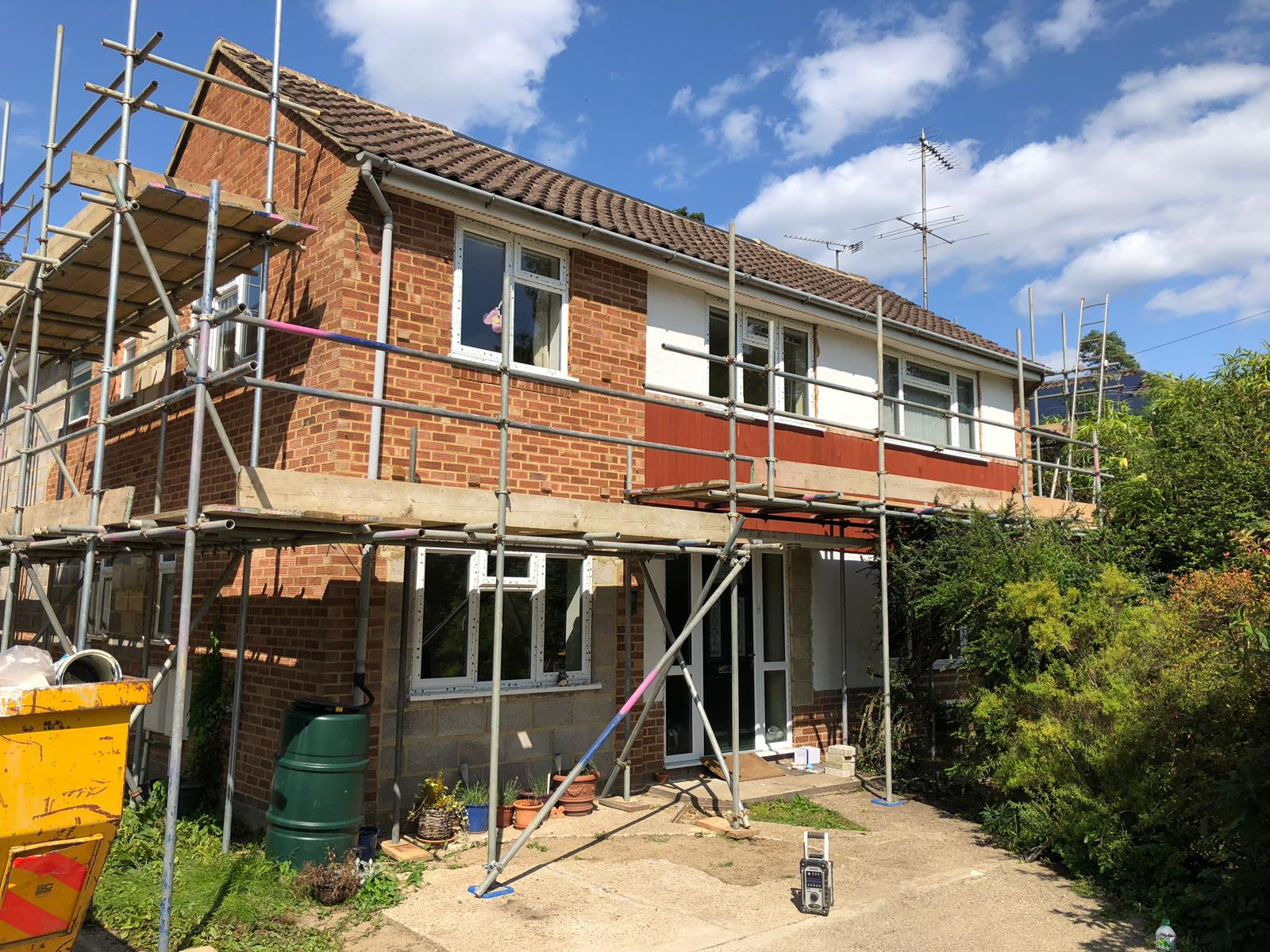 Domestic Scaffolding Surrey